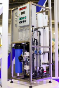 RO unit fully Automated 2 membranes